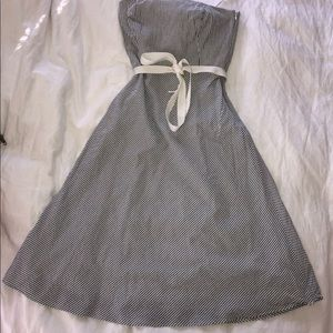 Ann Taylor Loft - Strapless Dress - Sz 8